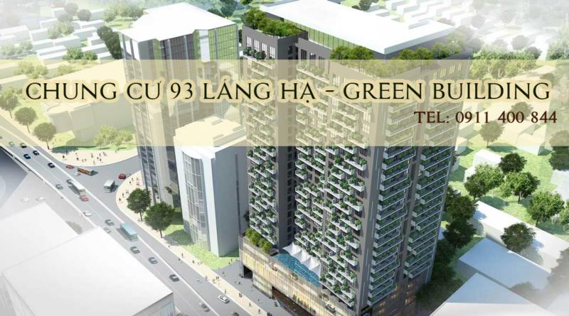 CHO THUÊ CĂN HỘ CHUNG CƯ 93 LÁNG HẠ GREEN BUILDING, ĐỐNG ĐA