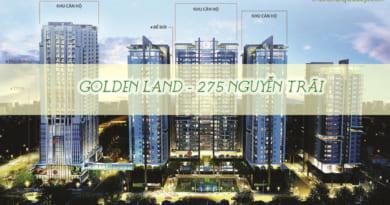 Cho thuê căn hộ chung cư Golden Land 275 Nguyễn Trãi – Thanh Xuân