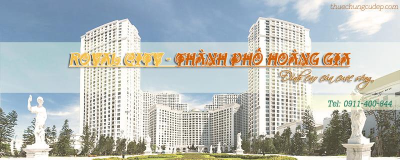 Cho thuê căn hộ chung cư Royal City Nguyễn Trãi